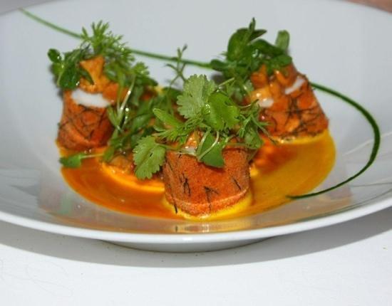 Maison Lameloise : Monk Fish main...