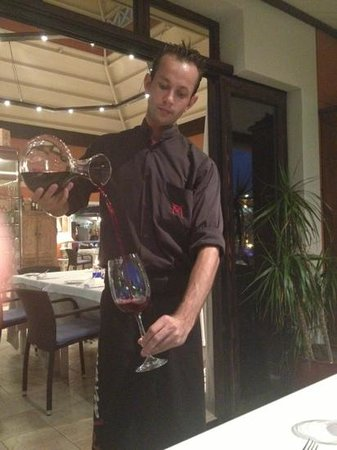 La Martina Grill: Tomas the Sommelier Waiter