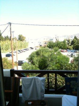 Anna Platanou Hotel: le balcon