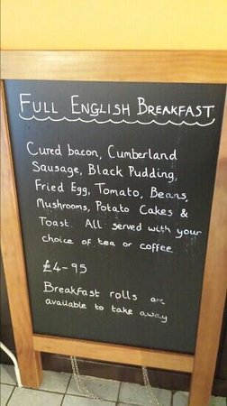 Cafe 34: cafe34 breakfast nice food good prices come and see for yourself