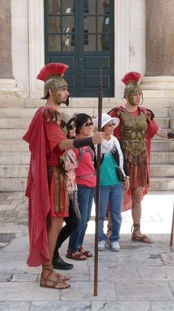 Diokletianpalast: Römer & Chinesen