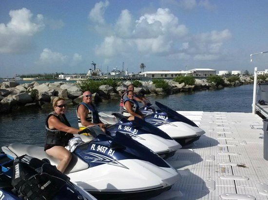 Adventure JetSki's Watersport: returning from a terrific time on water with Jason at Adventure Jet Skiis