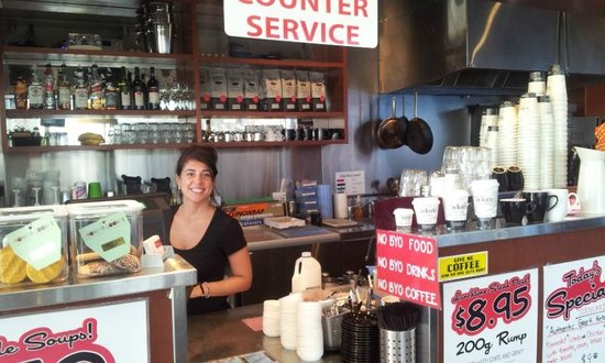 Cafe Central on Scarborough Street: The Barista Boss!