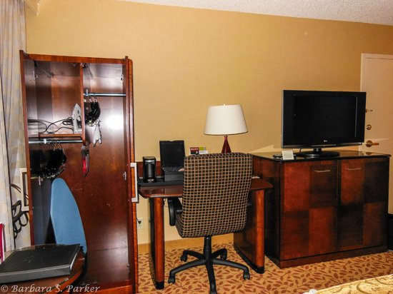 Wichita Marriott: Handicapped accessible room