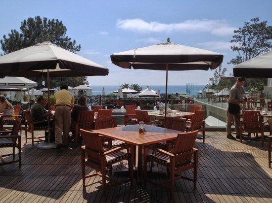 L'Auberge Del Mar : Hotel restaurant