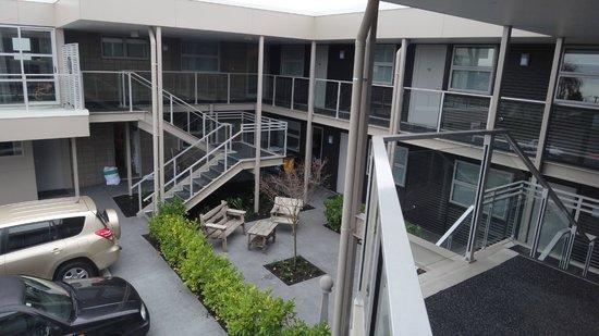 Argent Motor Lodge: 2 storey motel