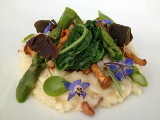 Restaurant Savoy : A special vegetarian dish: Vegetable Risotto