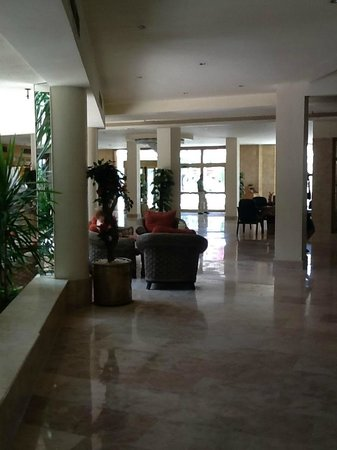 The Grand Hotel Hurghada: Hotel lobby