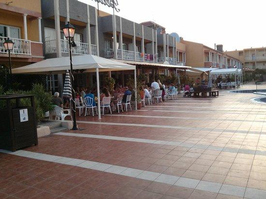Compostela Beach Golf Club: Bar area