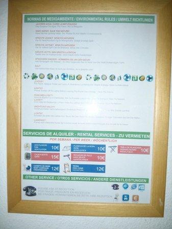 Compostela Beach Golf Club: Hire rates July 14