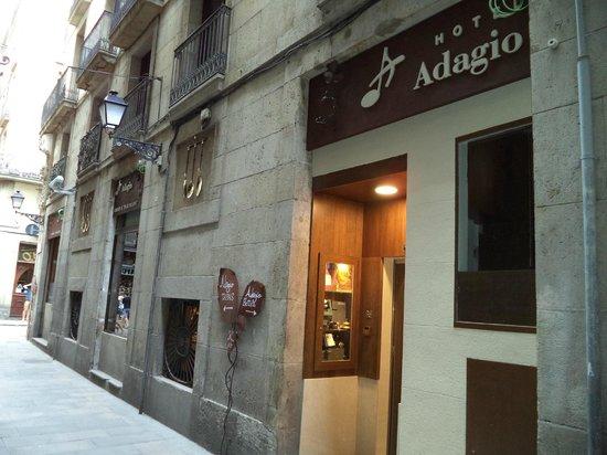 Hotel Adagio : Hotel Entrada