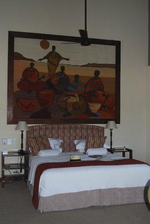 MalaMala Main Camp: Bedroom at Mala Mala