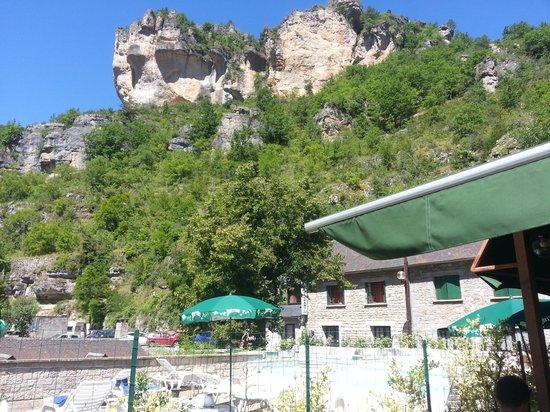 Meyrueis, France: les douzes. gorge de la jonte