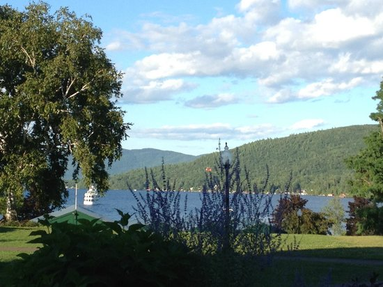 Fort William Henry Hotel and Conference Center : Another great view from the hotel Veranda