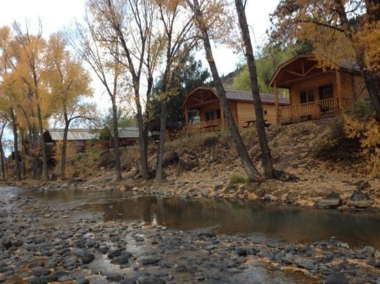 Durango Riverside Resort: from the river