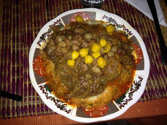 La Petite Perle d'Essaouira : Couscous Fish Tfaya