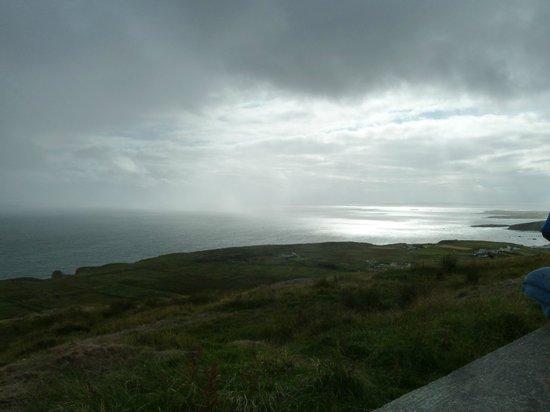 Sky Road: pluie et soleil, magnifique !