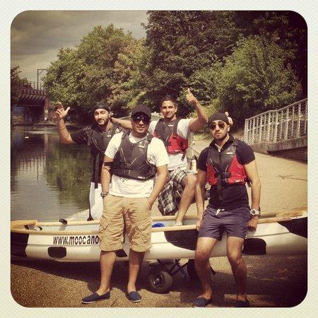 Moo Canoes Ltd.: at a lock