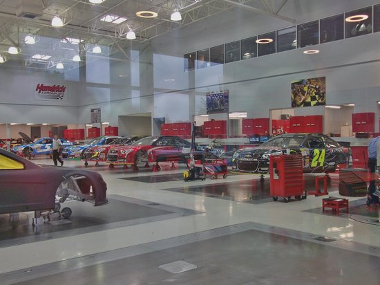 The Shop Picture Of Hendrick Motorsports Complex Charlotte