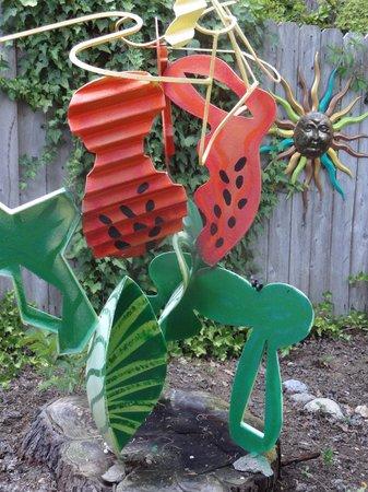 Outside Inn: Yard Art