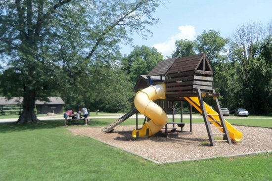 Olentangy Indian Caverns: Jungle Gym / Play Area