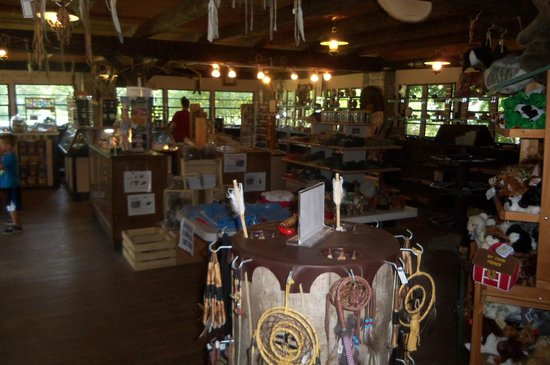 Olentangy Indian Caverns: Inside the Gift Shop