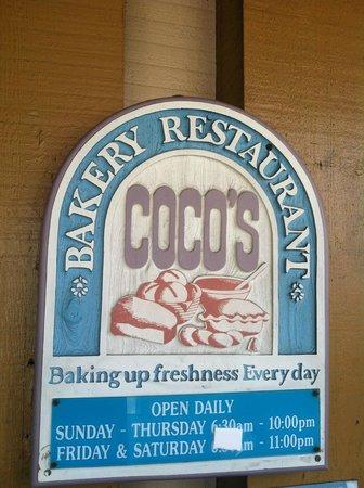 Coco's Bakery & Restaurant