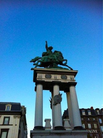 Statue equestre de Vercingetorix