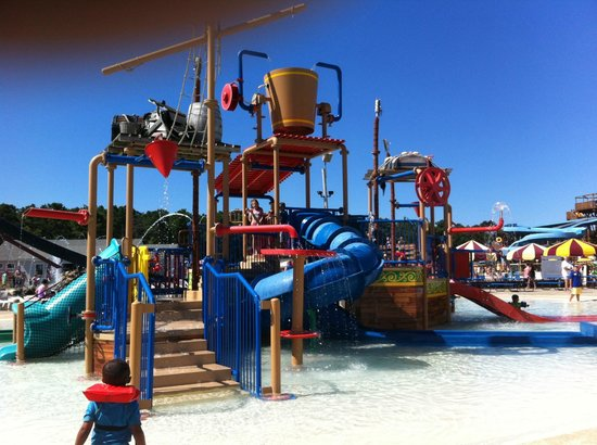 Water Wizz: Pirate area for little kids