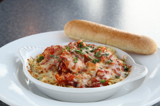 Newman's Pasta Cafe: Chicken Parmesan