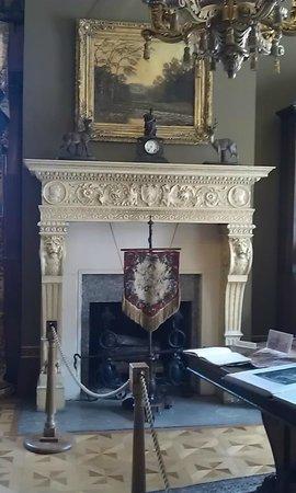 Old Louisville: beautiful fireplace
