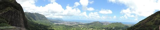 Nuuanu Valley Rain Forest: What a view.