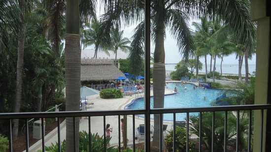 Best Western Key Ambassador Resort Inn: View from our room