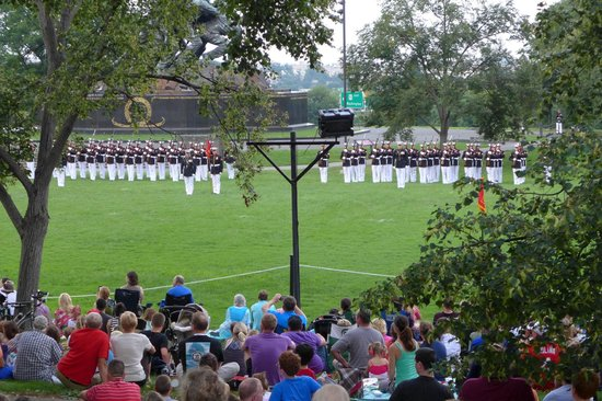 U.S. Marines Sunset Parade: Sunset Parade