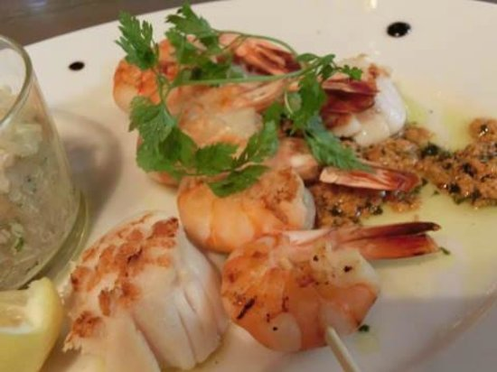 Jardin Mazarin: クリエイティブな料理