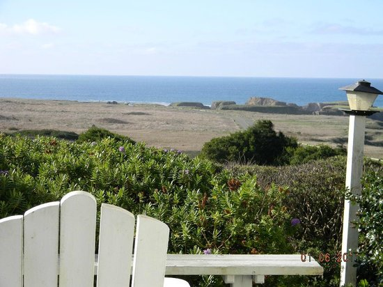 Mendocino Seaside Cottage : Vista View Room View