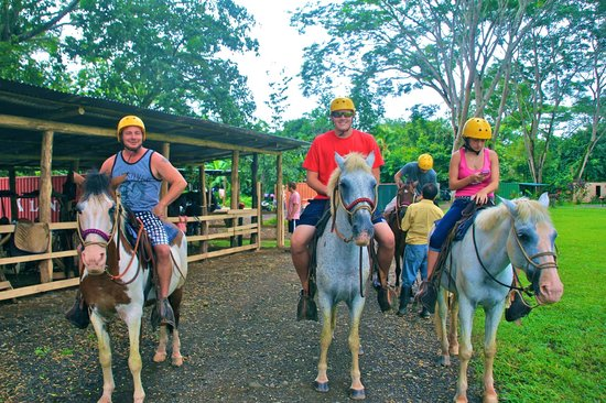 Ocean Ranch Park: Getting started on horseback