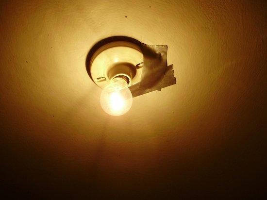 Cusco Plaza Nazarenas: Luz do banheiro.