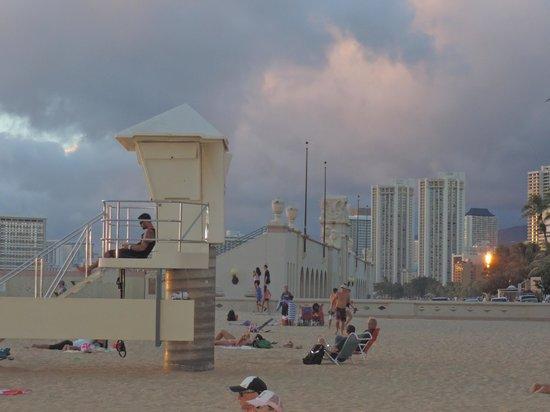 Sans Souci Beach Park: Lifeguard