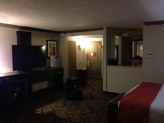 Holiday Inn Boston-Bunker Hill: Large Room w/alot of space...very contemporary...