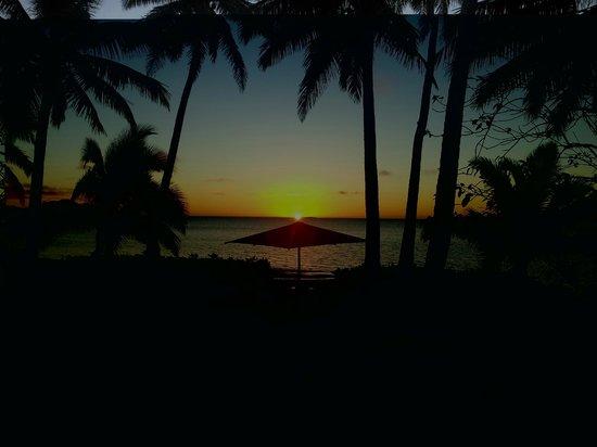 Nukubati Private Island: Our beautiful view