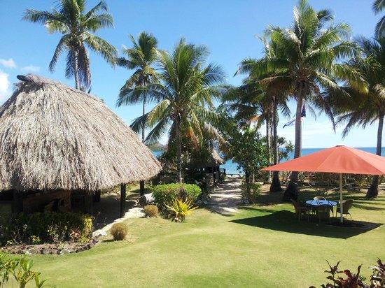 Nukubati Private Island: View from Pavilion