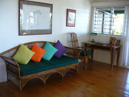 Nukubati Private Island : The decor in our bure