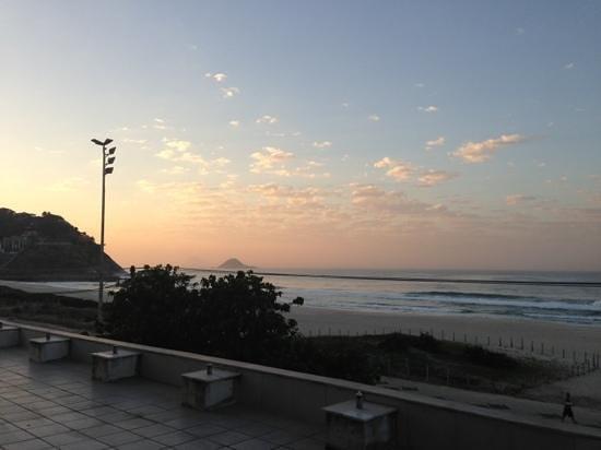 Tropical Barra Hotel: vista da janela do 201
