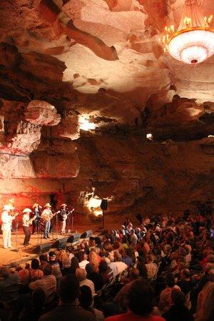 Bluegrass Underground: The concert area
