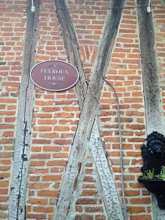 Hotel St. Pierre: Built in 1700s by slaves. slaves also made the bricks.