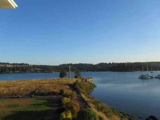 The Resort at Port Ludlow: View from our room