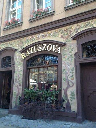 Ratuszova Restaurant : Store front