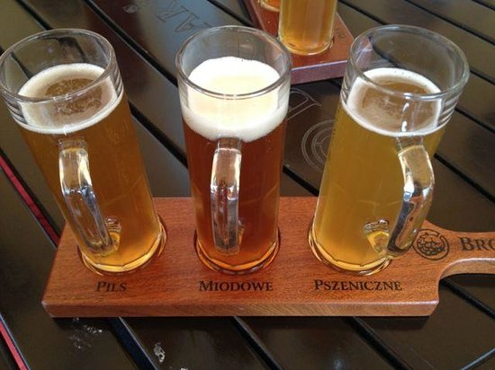 Brovaria: beer sampler