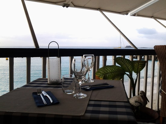Restaurant le Soleil: wiew